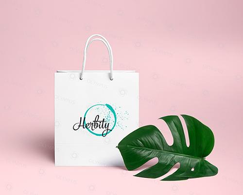 Thiết kế Logo hãng mỹ phẩm Herbity