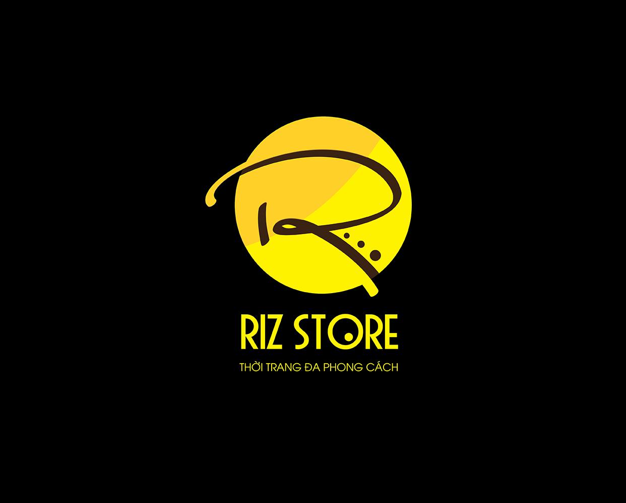 Thiết kế Logo thương hiệu thời trang RIZ STORE