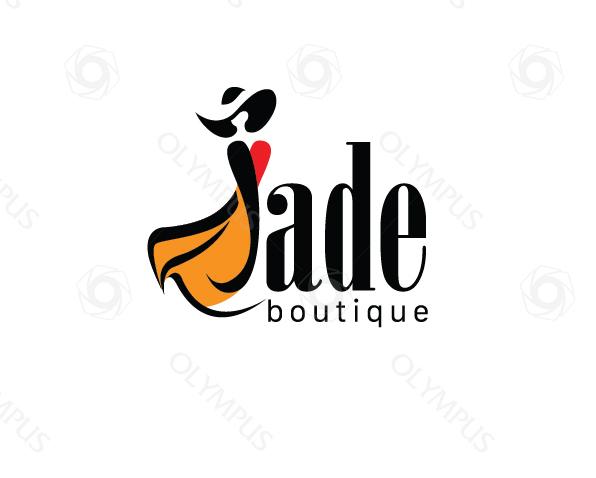 Thiết kế Logo thương hiệu thời trang Jade store