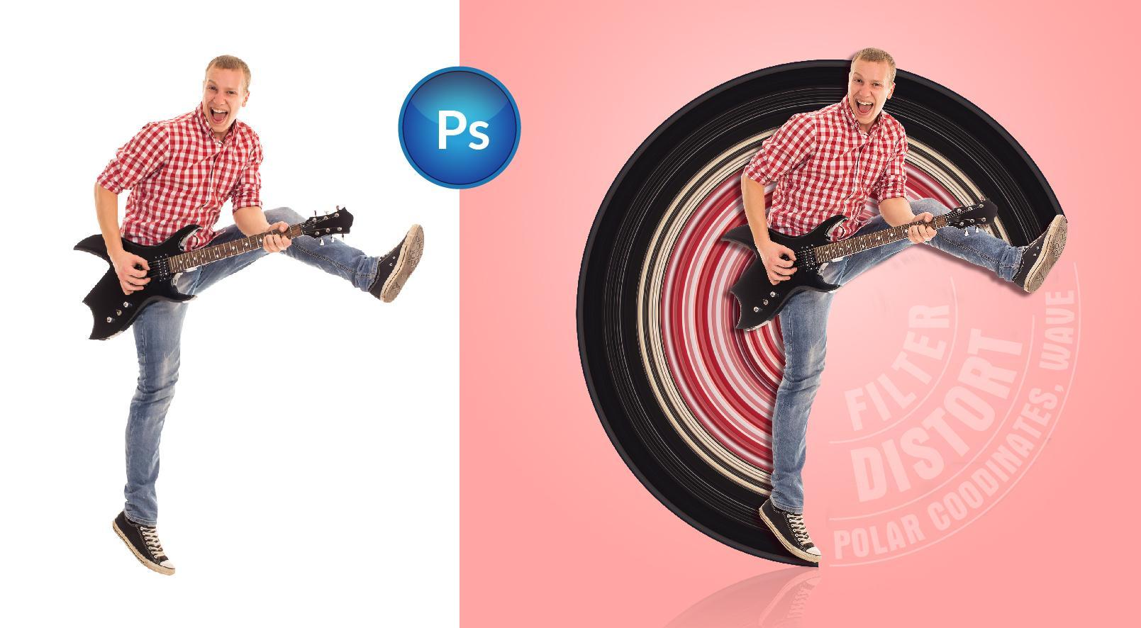 Tạo hiệu ứng căng bóng (Effect Photoshop tutorial)